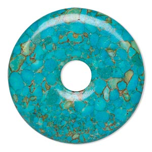 "Donuts Mosaic ""Turquoise"" Blues"