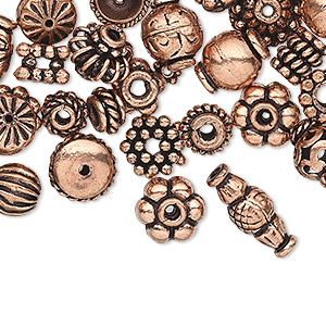 Beads Copper Copper Colored