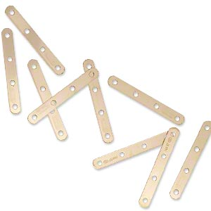 Spacer Bars Gold-Filled Gold Colored