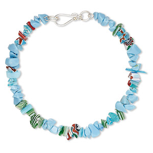 Other Bracelet Styles Glass Blues