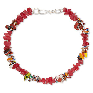 Other Bracelet Styles Glass Reds