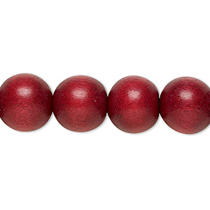 Beads Taiwanese Cheesewood Reds