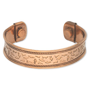 Cuff Bracelets Copper Copper Colored