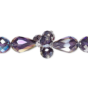 Beads Glass Purples / Lavenders