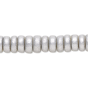 Beads Taiwanese Cheesewood Silver Colored