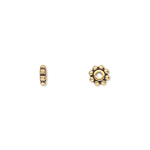 Spacer Beads Gold Plated/Finished TierraCast