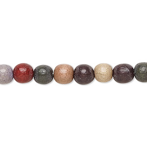 Beads Taiwanese Cheesewood Mixed Colors