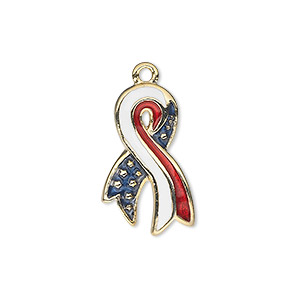 Charms Enameled Metals Multi-colored