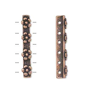 Spacer Bars Copper Plated/Finished Copper Colored