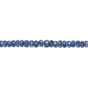 25 10x7mm Aqua Blue Glass Quartz Faceted Rondelle Beads
