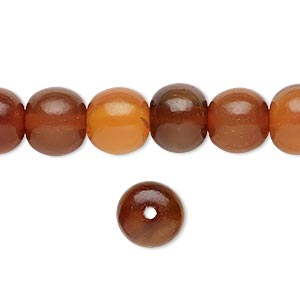 Beads Horn Browns / Tans
