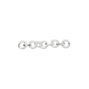 Chain Extenders Sterling Silver Silver Colored