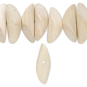 Beads Taiwanese Cheesewood Beige / Cream