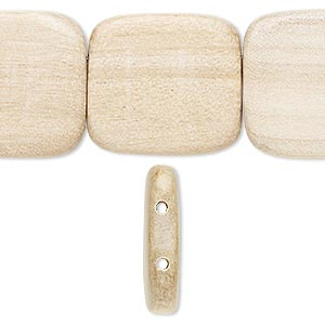 Spacer Beads Taiwanese Cheesewood Beige / Cream