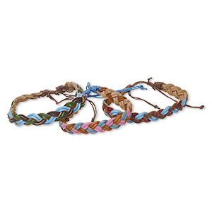 Other Bracelet Styles Cotton Mixed Colors