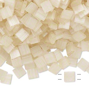 Seed Beads Glass Beige / Cream