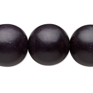 Beads Taiwanese Cheesewood Blacks