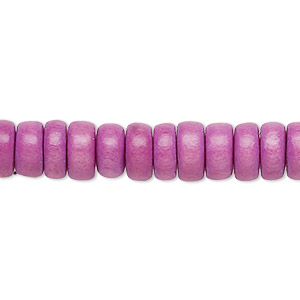 Beads Taiwanese Cheesewood Purples / Lavenders