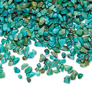 Undrilled Mini Chips Grade B Classic Turquoise