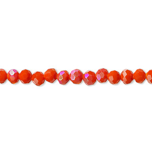 Beads Glass Oranges / Peaches