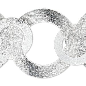 Bracelet Components Silver Plated/Finished Silver Colored