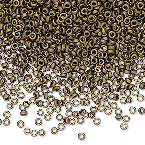 Spacer Beads Glass Browns / Tans