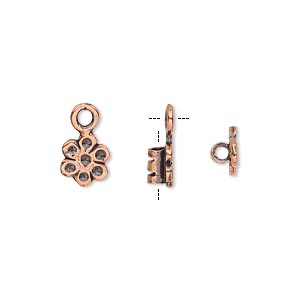 Crimp Ends Copper Plated/Finished Copper Colored