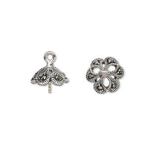 Upeyes Marcasite Silver Colored