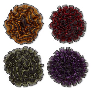 Embellishments Polyester Mixed Colors
