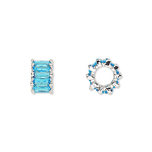 Beads Cubic Zirconia Blues