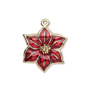Charms Enameled Metals Reds