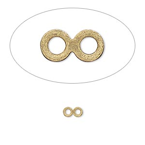 Linking Rings Gold Plated/Finished Gold Colored