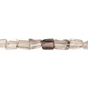 Beads Grade C Smoky Quartz