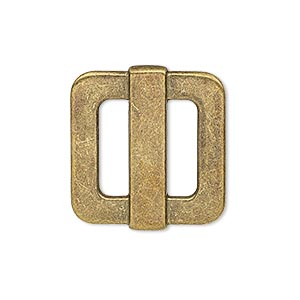Slides Brass Plated/Finished Gold Colored