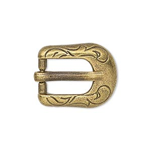 Buckle Clasps Brass Plated/Finished Gold Colored