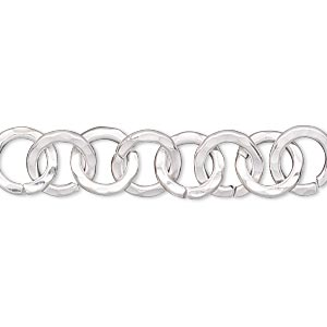 Chain Extenders Silver Plated/Finished Silver Colored