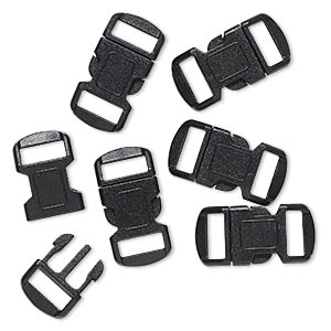 Buckle Clasps Other Plastics Blacks