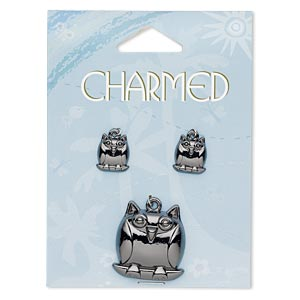 Charms Gunmetal Greys