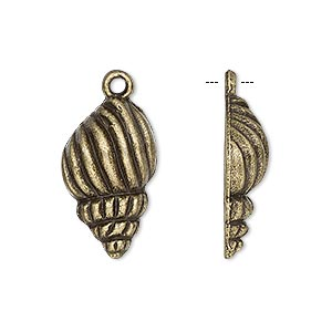 Charms Brass Plated/Finished Gold Colored