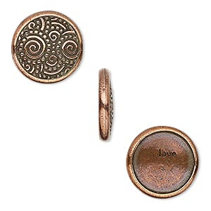 Snap Fasteners Copper Plated/Finished Copper Colored