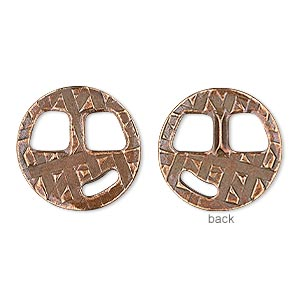 Buckle Clasps Copper Plated/Finished Copper Colored