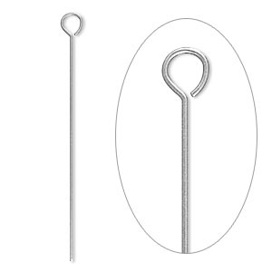 Eyepins Stainless Steel Silver Colored