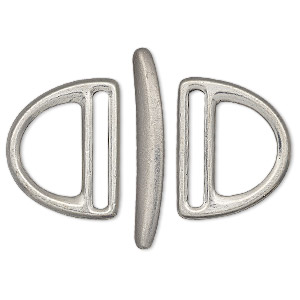 Toggle Pewter Silver Colored
