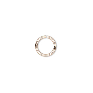 Open Jump Rings Rose Gold-Filled Pinks