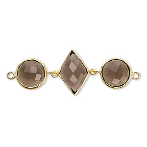 Links Smoky Quartz Browns / Tans