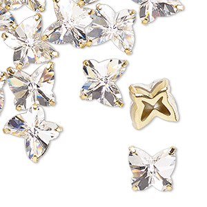 Sew-ons Preciosa Gold Plated/Finished
