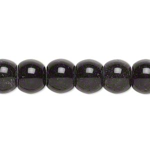 Beads Grade C Golden Sheen Obsidian