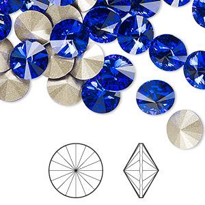 Rivolis Swarovski Majestic Blue
