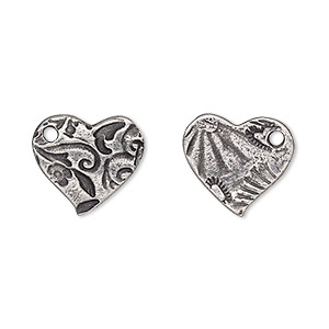 Charms Pewter Silver Colored