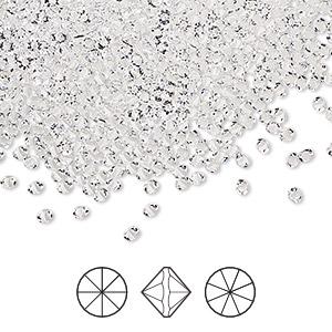 Embellishment, Swarovski® crystal rhinestone, crystal clear, 2-2 1mm